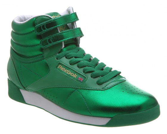 Reebok Freestyle Metallic | Green