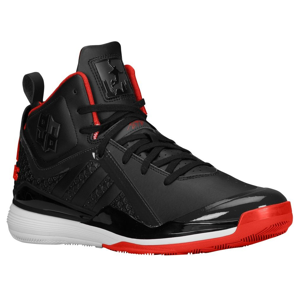 los angeles 77682 db183 adidas D Howard 5. BlackLight ScarletWhite