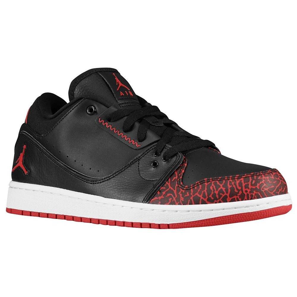 Jordan 1 Flight 5 Black Gym Red | Footshop