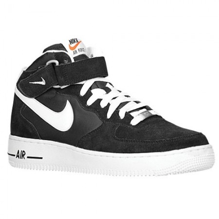 Air Force 1 Mid Black White