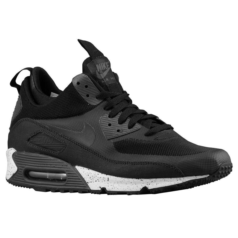 Nike Air Max 90 Mid Sneakerboot Black Black