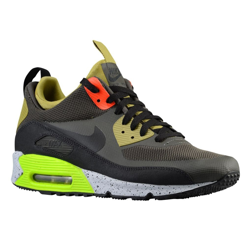 Nike Air Max 90 Sneakerboot NewsprintParachute Gold