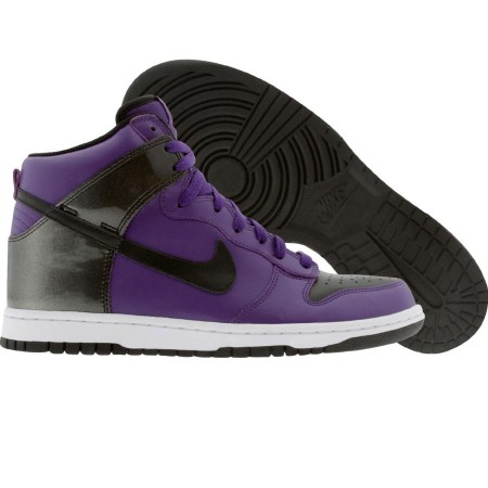 official photos feb7a e9bc3 ... Nike Dunk High  407922-502  PurpleBlackWhite. produkt