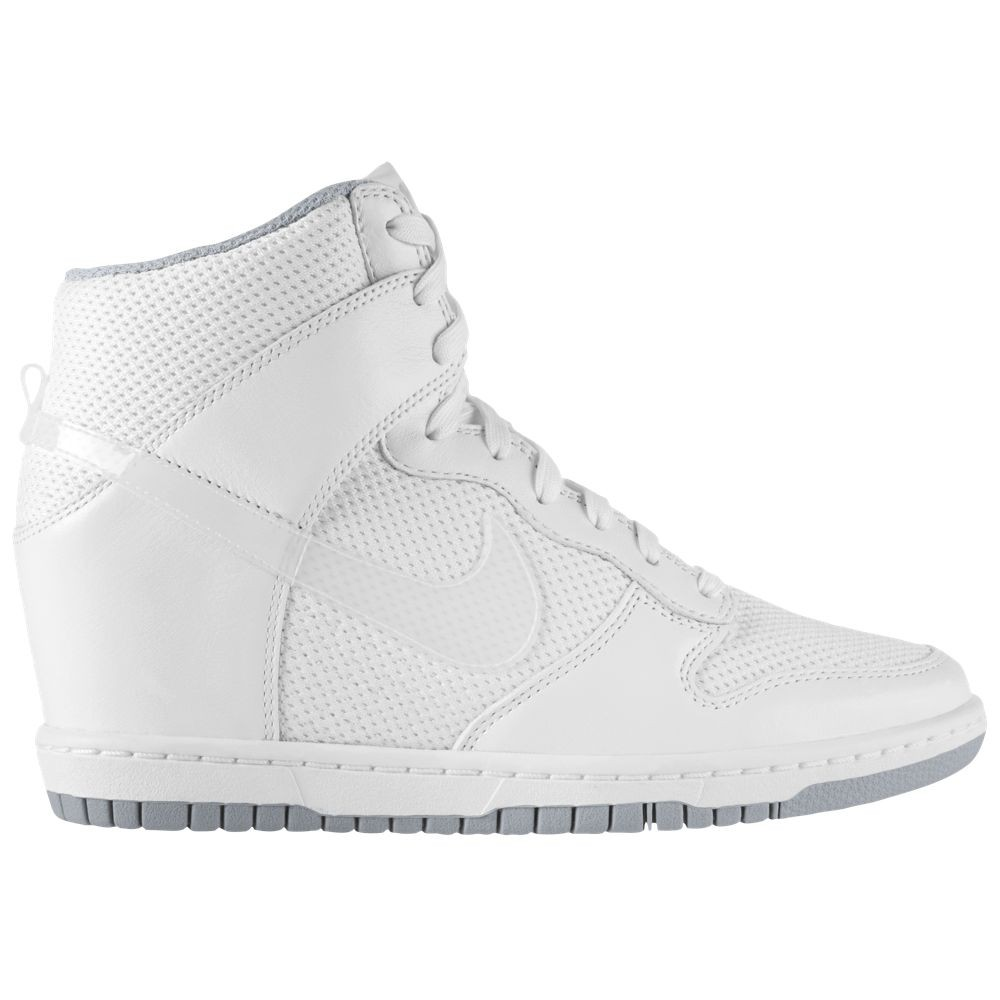timeless design 17137 394fe Nike Dunk Sky Hi  544877 100  WhiteWhiteWolf Grey - Sklep To